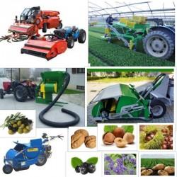 Συλλεκτικές Μηχανές Καρπών & Λαχανικών