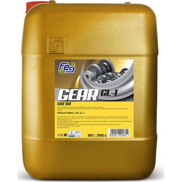 ΛΙΠΑΝΤΙΚΟ FEG GEAR OIL API GL-4 80W-90 18LT